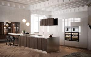Кухни BIEFBI VENEZIA купить итальянскую кухню в Москве - StosaStudio